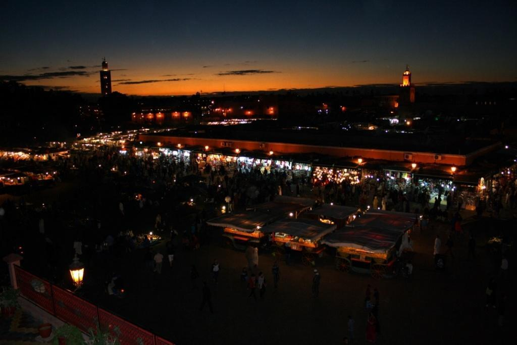 Jemaa El Fna by night
