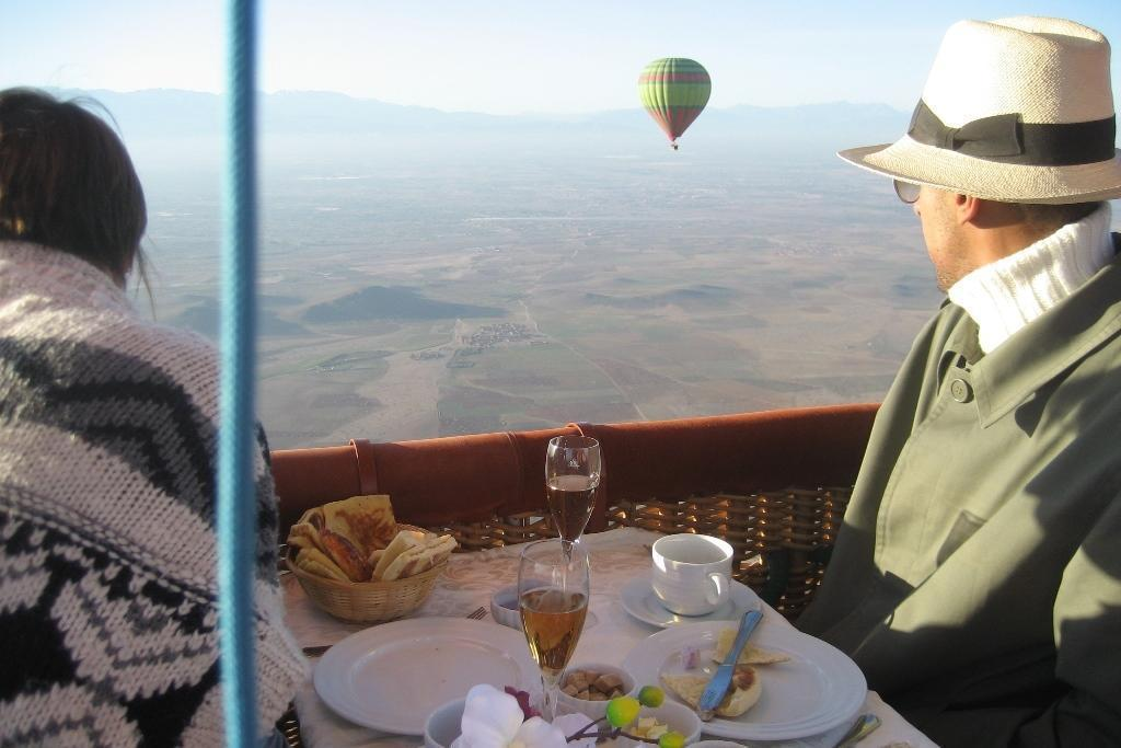 hot air balloon VIP flight