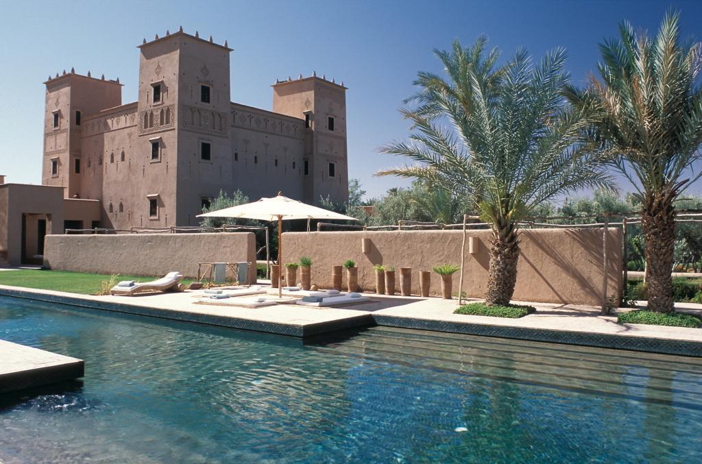 main kasbah and pool