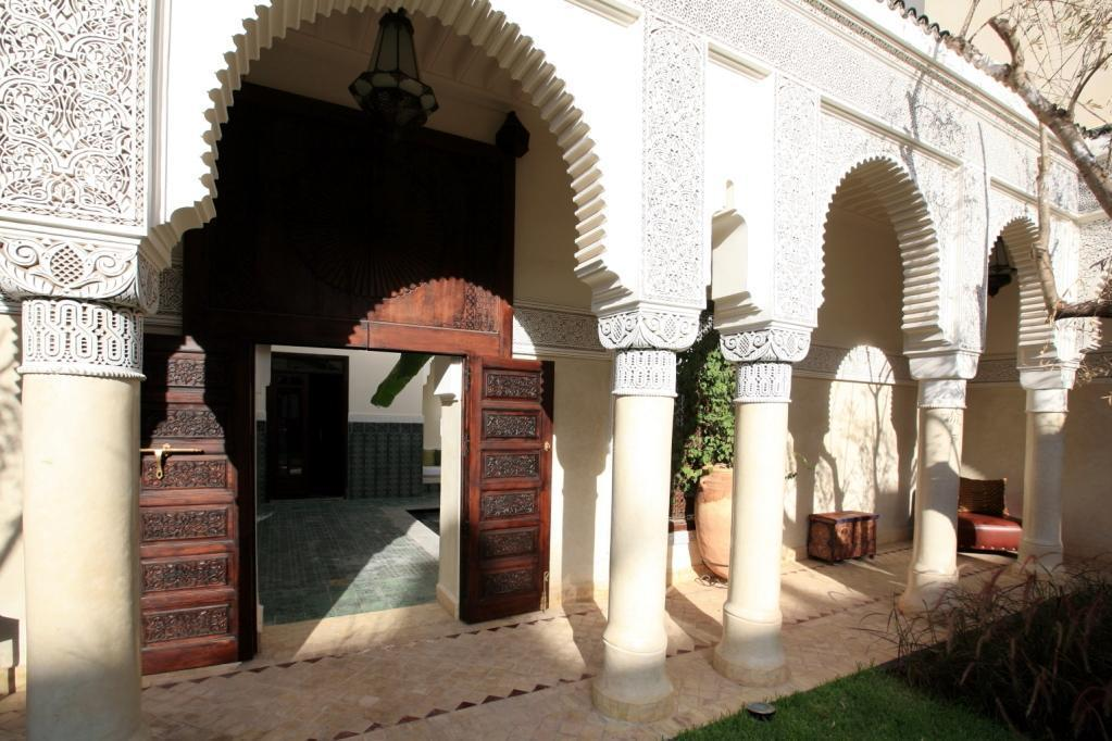 Private riad Entrance