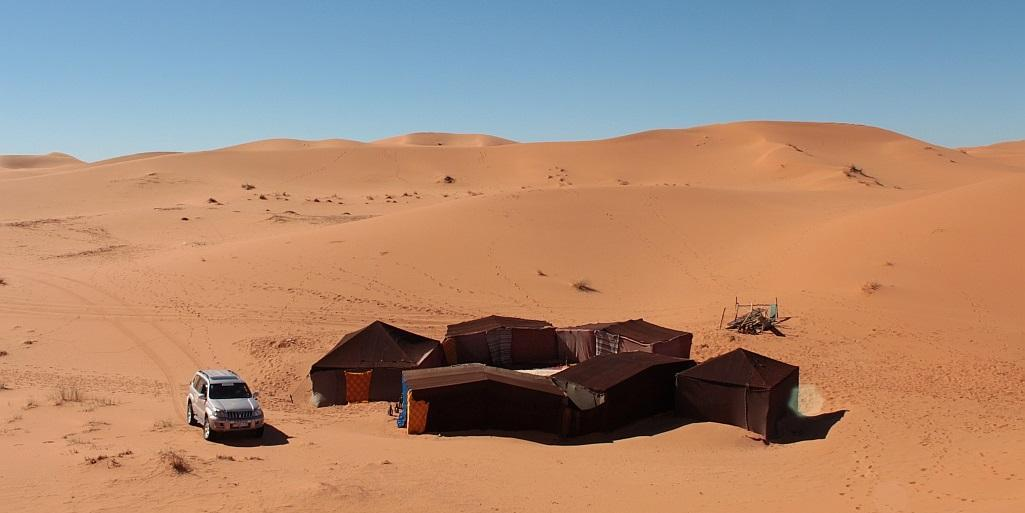 erg chebbi basic camp