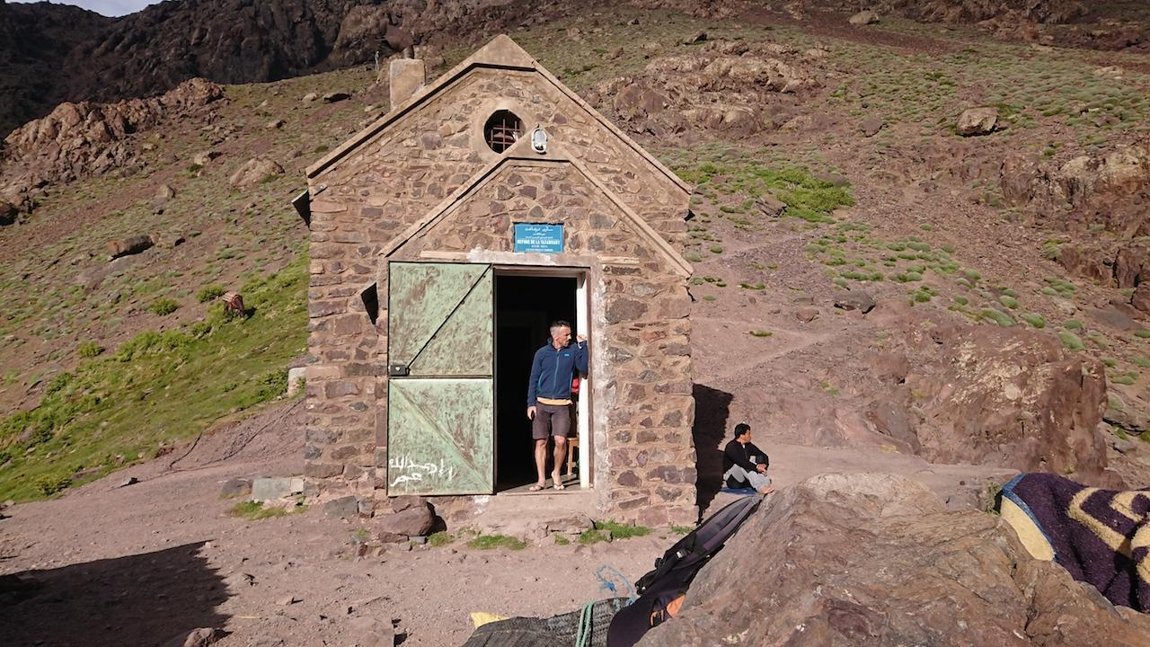 gite at 3000 meters altitude high atlas