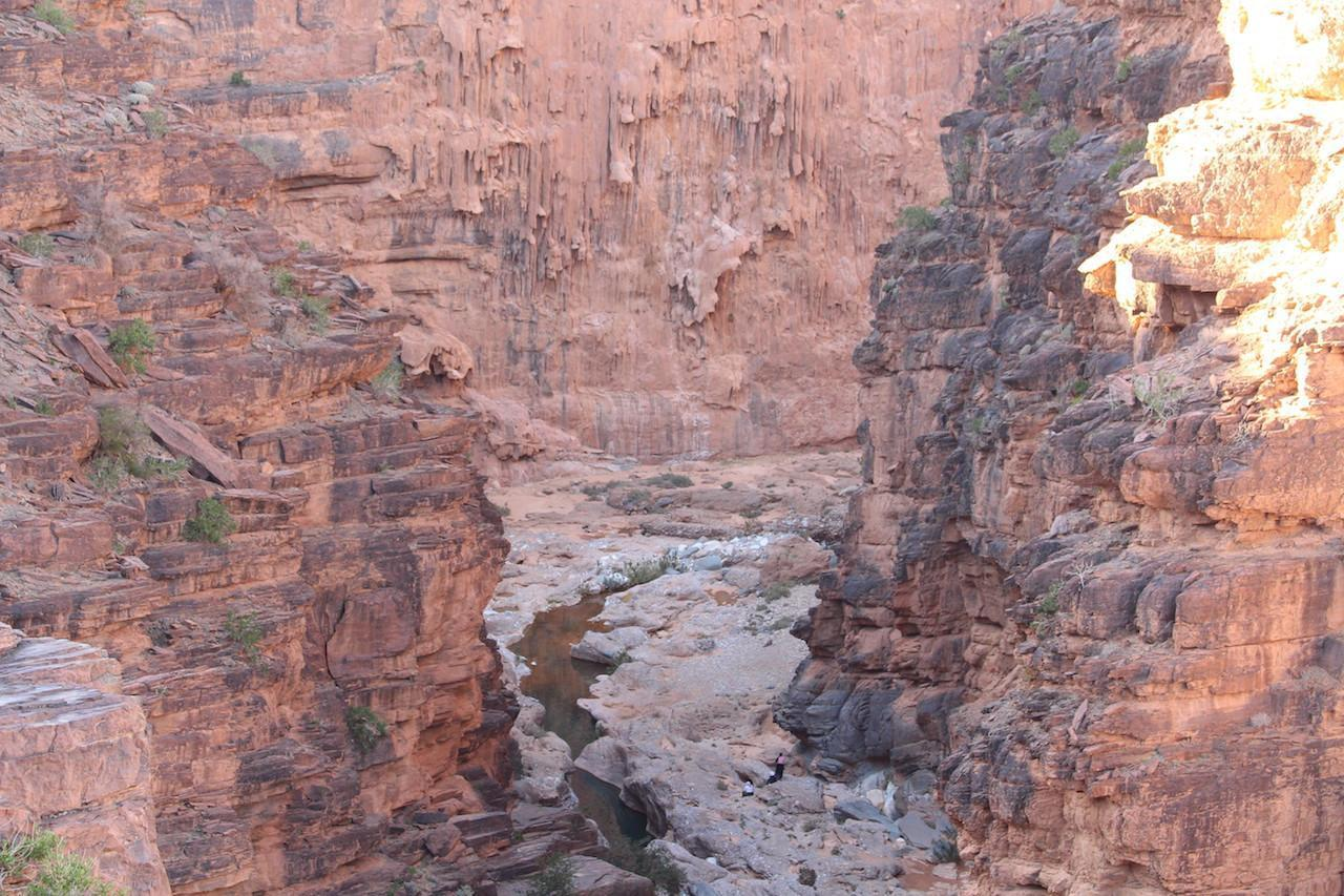 gorges amtoudi sunset
