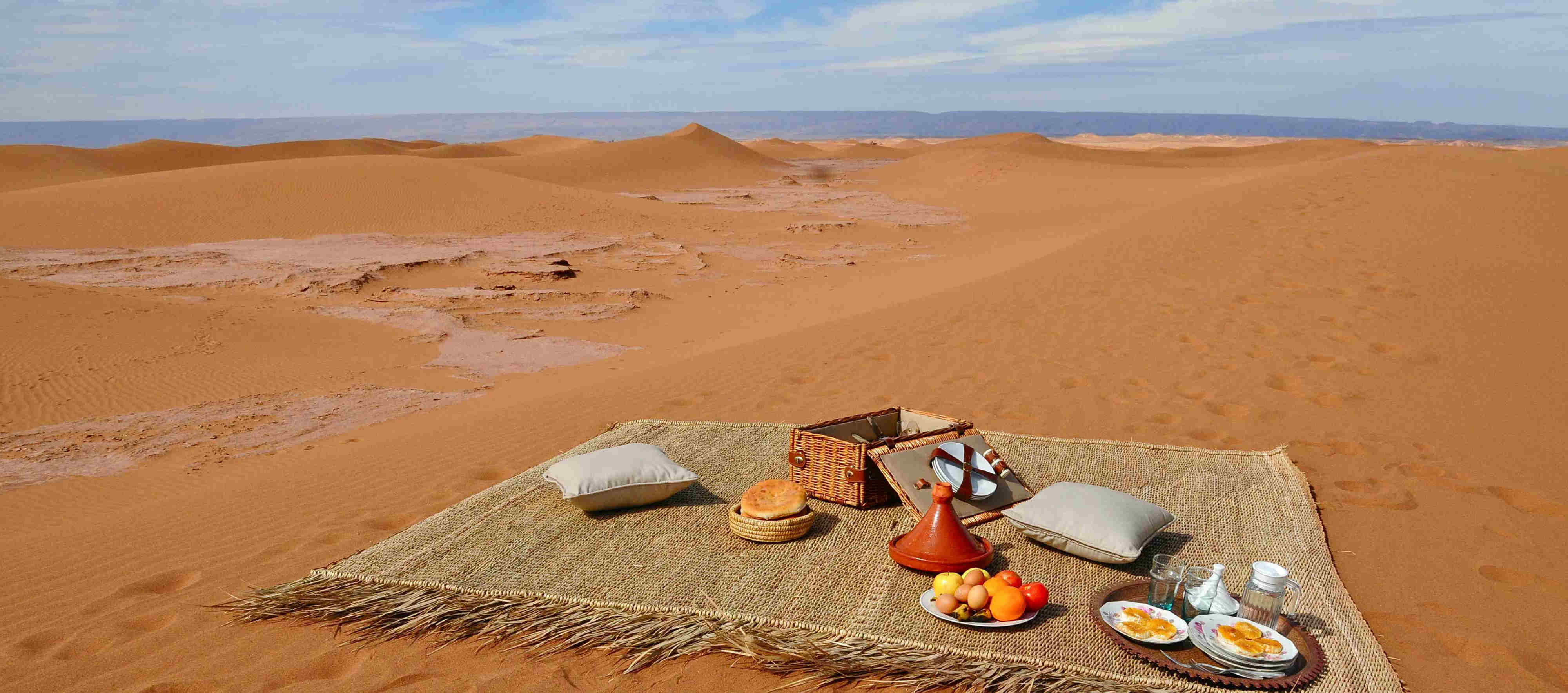 picnic in the sahara