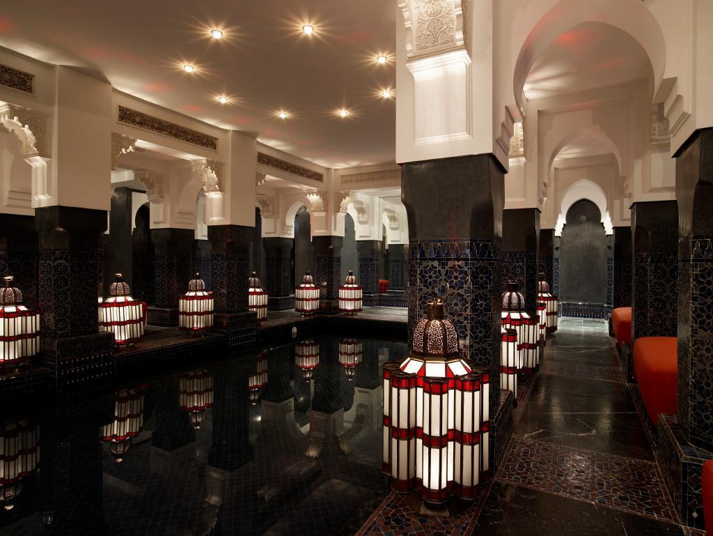 mamounia spa pool