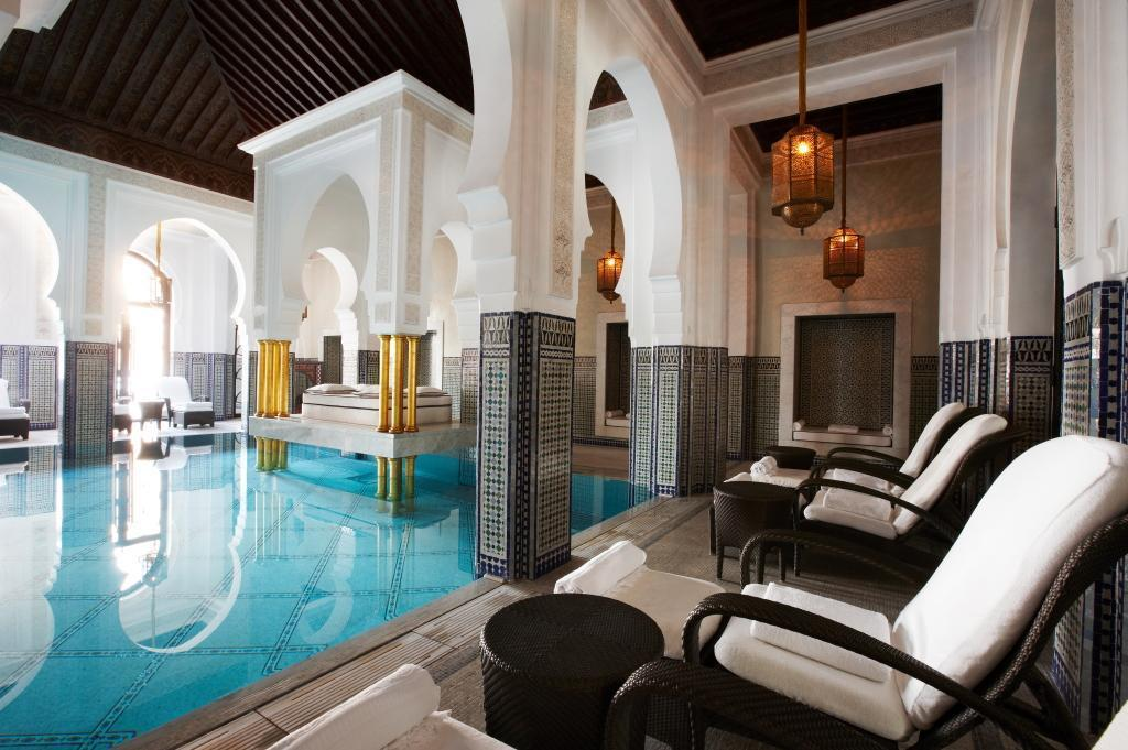 mamounia indoors pool