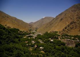 view from kasbah toubkal