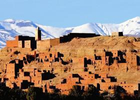 Atlas Mountains Berber village