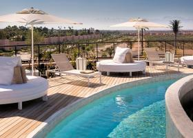 Marrakech roof terrace