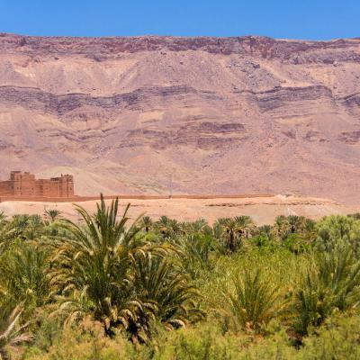 Kasbah In The South Of Morocco