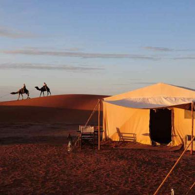 Luxury Tent Camel Ride