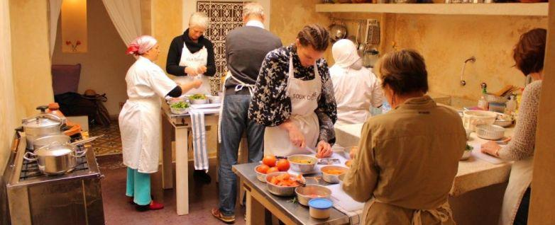 Moroccan Cooking Class and Souk Introduction