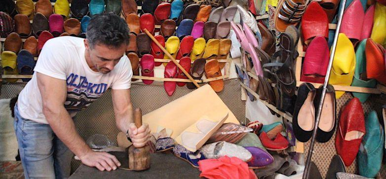 Babouche Making in Marrakech